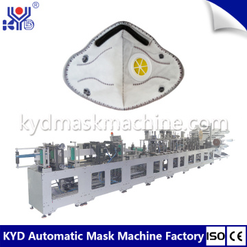 Super High Speed Disposable Respirator Making Machine