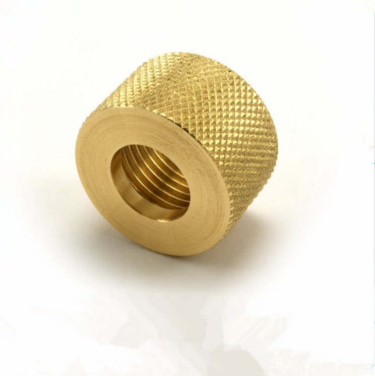 Knurled CNC Milling Parts