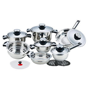 China Factory for for Cookware With Wide Edge 16 Pieces Cookware with Wide Edge export to South Korea Factory