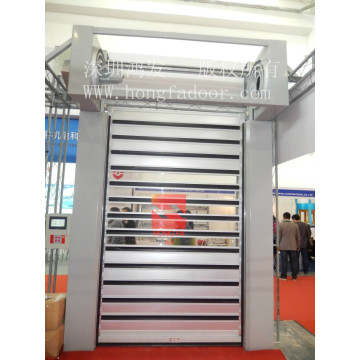 Okpokoro Aluminom Turbine High Speed ​​Door
