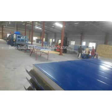 Composite Wall Sandwich Panel Roll Forming Machine