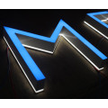 Reverse Halo Lit Letter Sign