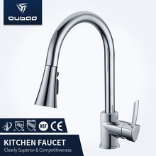 High Quality for Washbasin CUPC Faucet Best Price Polished Chrome Kitchen Faucet Taps supply to Indonesia Factories