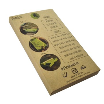 Classic Kraft paper packaging for mobile phone case