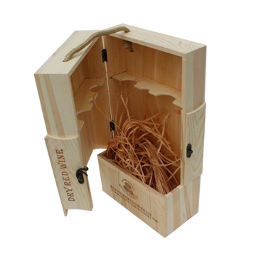 Engraving packaging wooden wine Packed Wine Box wholesale