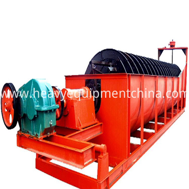 Screw Sand Cleaning Machine