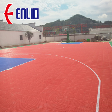 pp tiles  floor for outdoor basketball court