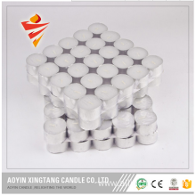 Hard Paraffin Wax White Custom Tealight Candle