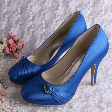 Royal Blue Formal Dress Shoes for Women