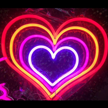 HEART LED NEON SIRN SIYANN
