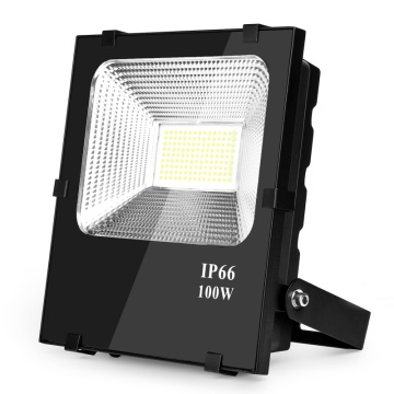 Kommerzielle 100 Watt Led Outside Flood Lights 180-300 Volt 5 Years Warranty