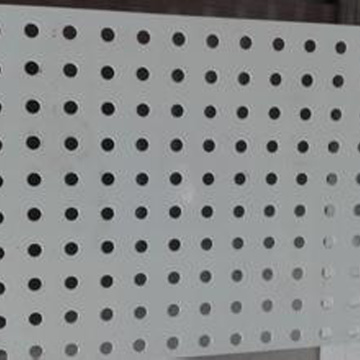 Perforated Corrugated Metal Panels
