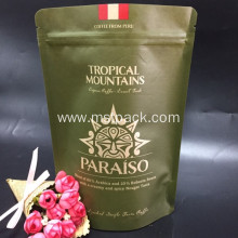 Kraft Paper Printing Coffee Bag With Valve