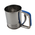 Manual Flour Sifter Stainless Steel Flour Sifter