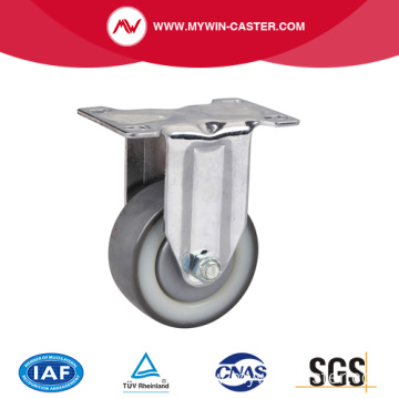 Chrome 3 Inch 130Kg Rigid TPU Caster