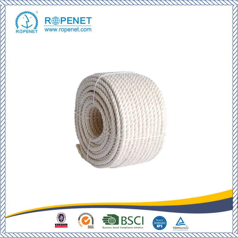 Natural Twisted Cotton Rope with Good Price