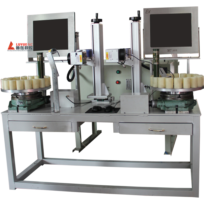 With Rotary Device Cylindrical Marking Machine