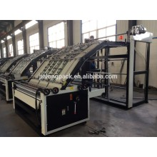 semi automatic high speed vacuum flute laminator