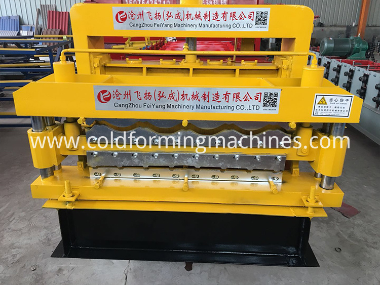 double layer roll forming machine 12