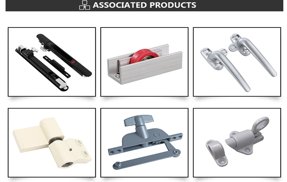 Accessories for upvc window