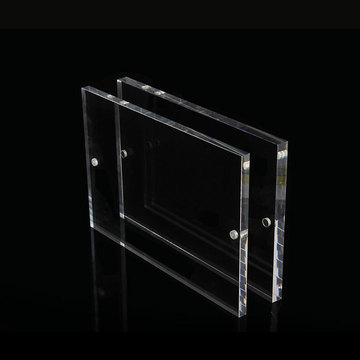 Cheap Wholesale Clear Acrylic Photo Frames