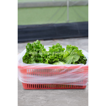 Big Capacity Supermarket Plastic Food Storage Bag