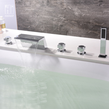 Full Brass Hot And Cold Water Bathtub Faucet