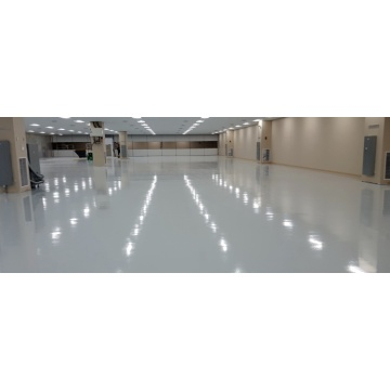Epoxy self-leveling thin coating floor