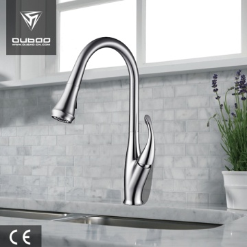 Chrome Table Top Single Hole Kitchen Sink Mixer