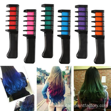 Temporary Hair Coloring Chalk Set For Hair Dye