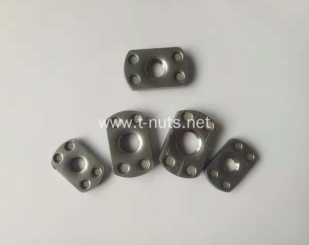 Full thread Flange surface Bulge Welding nut