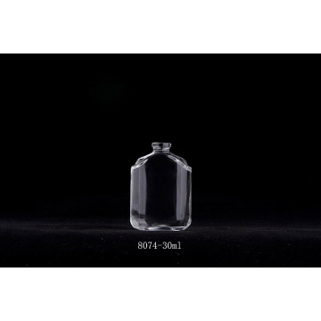 Square Empty Fancy Perfume Glass Bottle