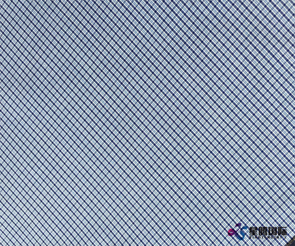 Popular Plaid Design Shirting Fabric