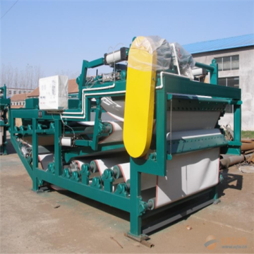 10 Years manufacturer for Waste Water Treatment Equipment Belt Filter Press machine for sludge treatment supply to Portugal Factory