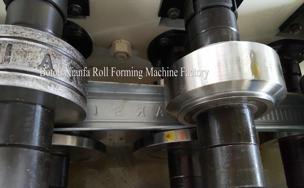 keel machine rollers