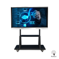 75 Inches Touch Screen Board with mobile stand