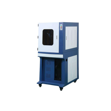 100w Enclosed Fiber Laser Marking Machine For Metal
