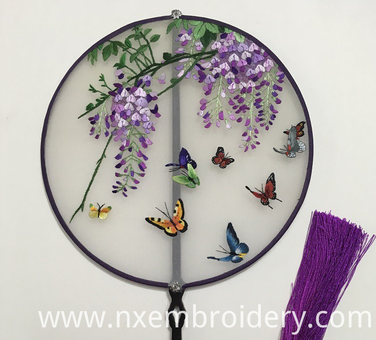 Hand Embroidered fan