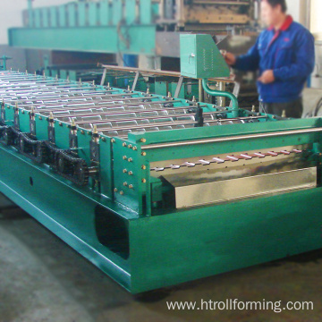 Bottom price C10 galvanized sheet metal manufacturing machine