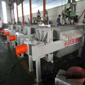 Small Machine Filter Press With Hydraulic System Operation