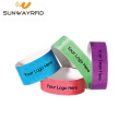 Patient ID NFC Payment Tyvek Paper RIFD Wristband