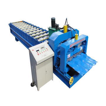 Cheap for Automatic Glazed Tile Roll Forming Machine Beautiful Glazed Tile Roll Forming Machine export to Cook Islands Importers