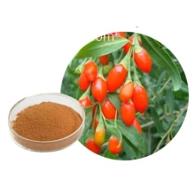 Unusual mineral lye goji powder.