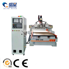 Best quality and factory for Auto Tool Changer Woodworking Machine Double-Disc Tool Machining Center Engraving Machine export to Mauritania Manufacturers