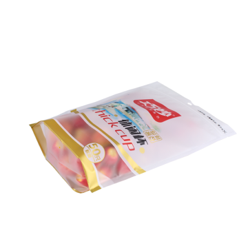 Food Grade Poly Packaging Pouch with Zipper