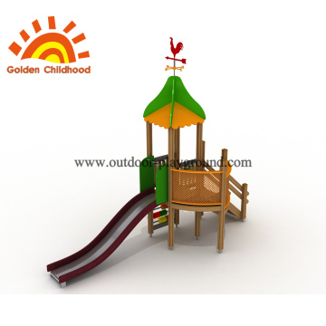 Combination Slide Outdoor Playground For Sale