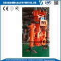 submersible pump with double stirrer