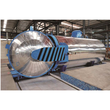 Vulcanizer autoclave for rubber