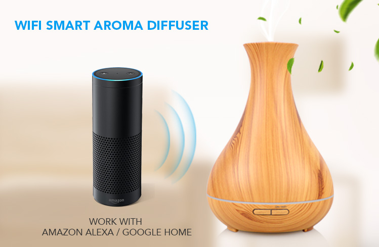 alexa essential oil diffuser