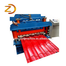 Good Quality for Roof Tile Roll Forming Machine Hardest Iron Roof Sheet Panel Roll Forming Machine export to Russian Federation Wholesale